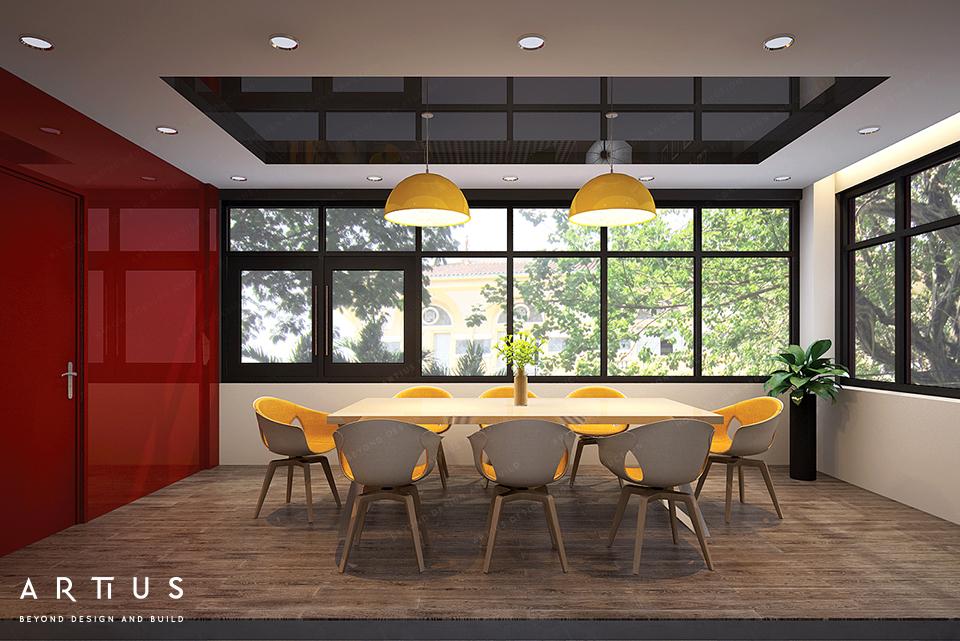 Thiết kế phòng họp theo chủ đề