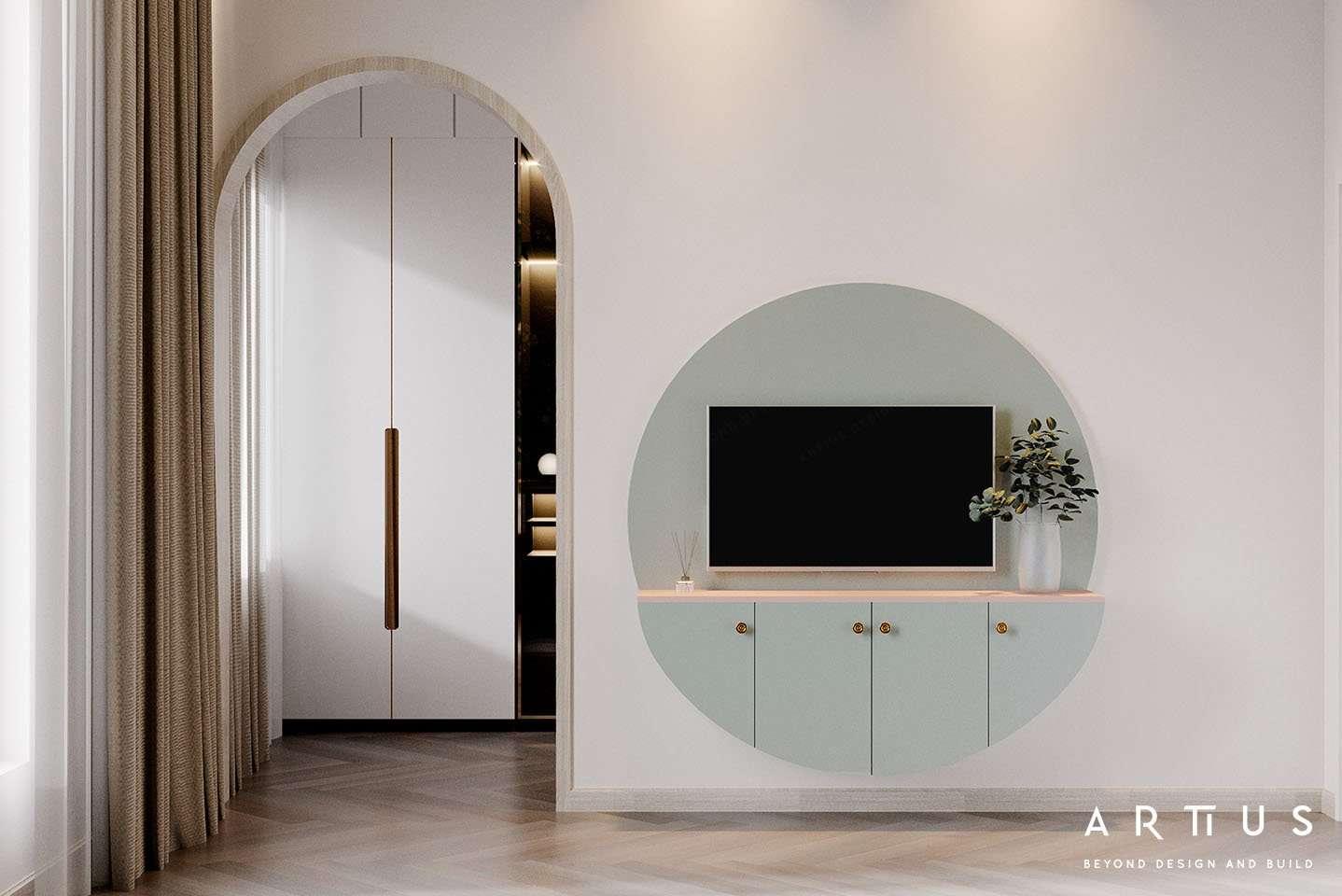 Ứng dụng chi tiết vòm cung trong thiết kế nội thất