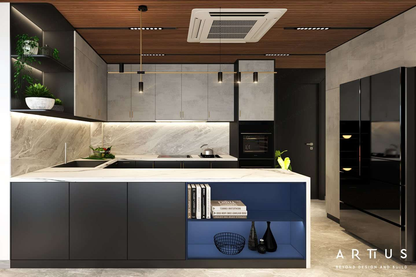 Thiết kế không gian bếp theo quy trình chế biển thực phẩm chuẩn